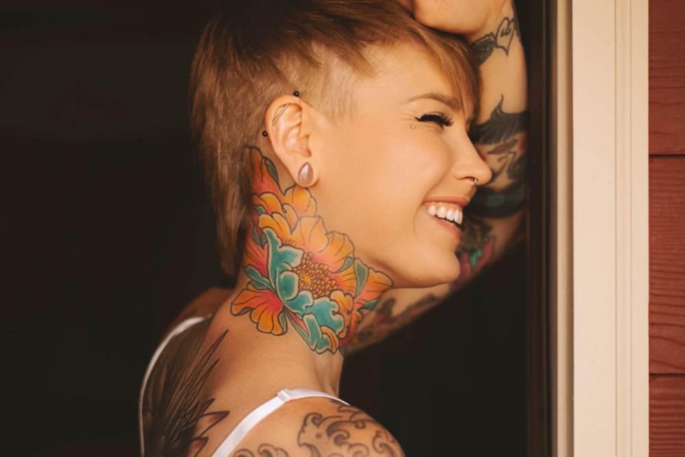 Maa Paa Tattoo Design